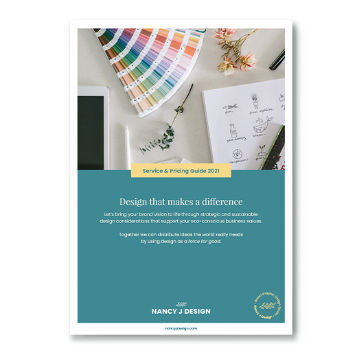 Image of Nancy J Design Service Guide
